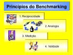 princ pios do benchmarking