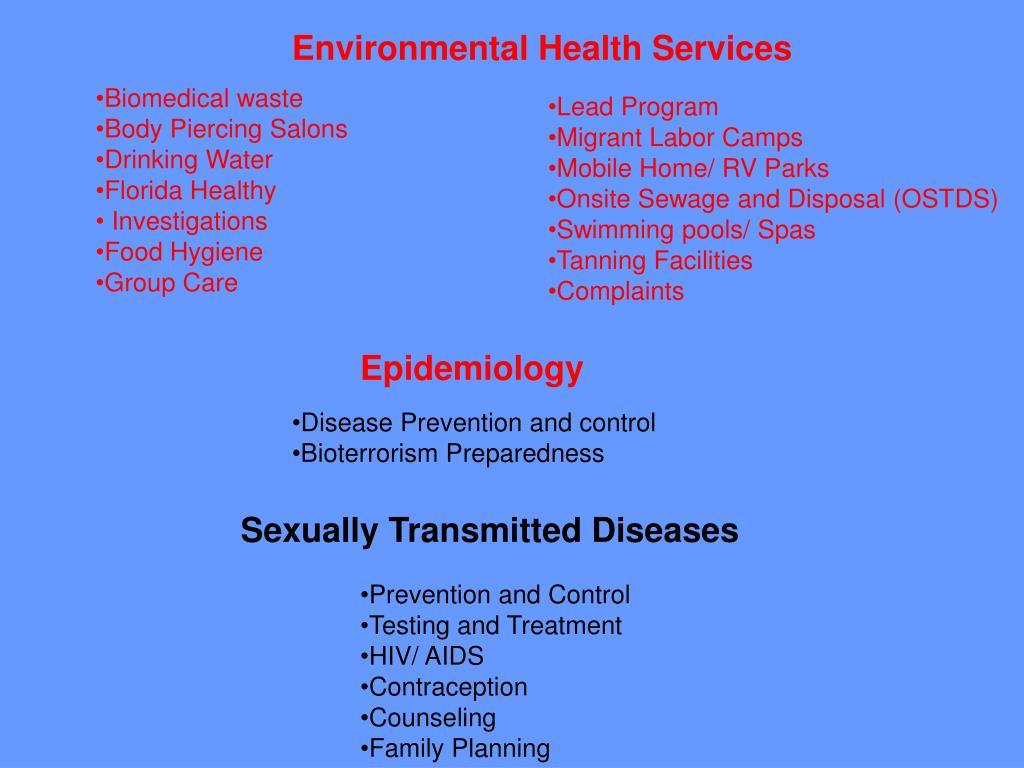 Environmental Health Services