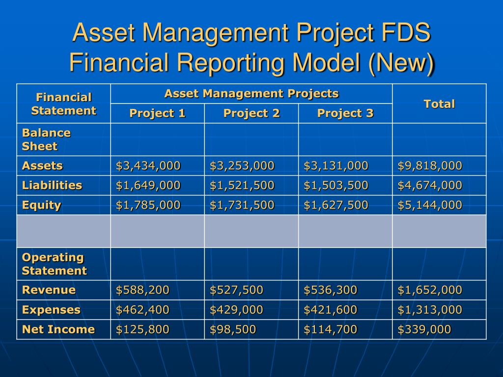 Asset Management Project FDS