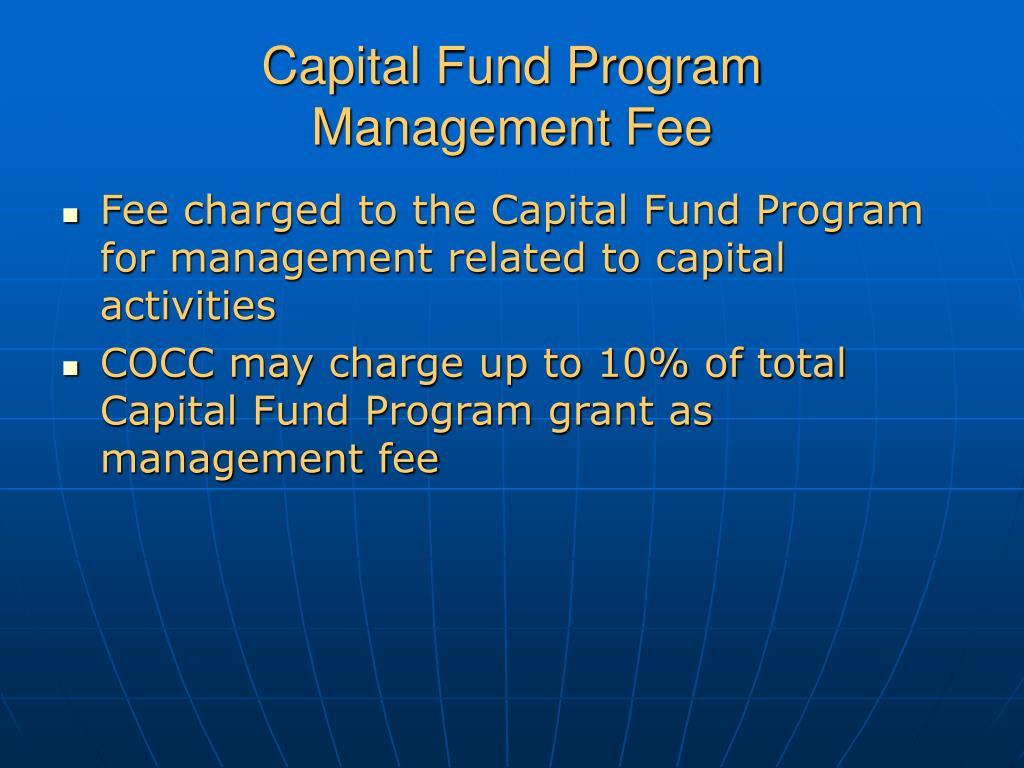 Capital Fund Program