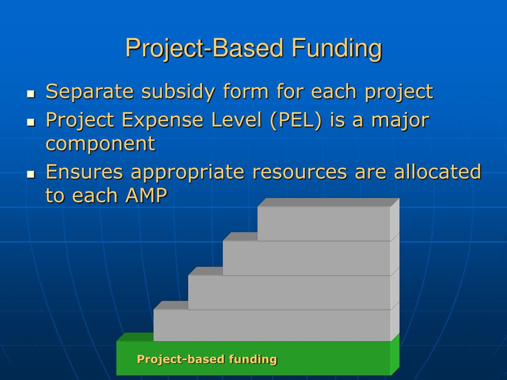 Project-based funding