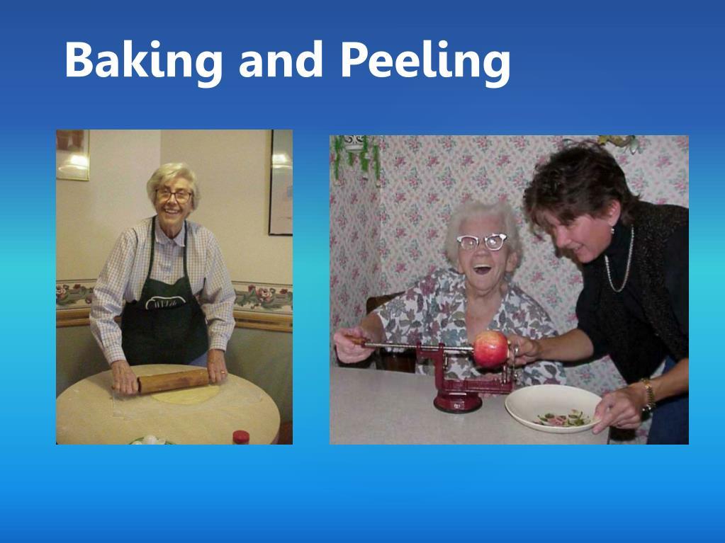 Baking and Peeling