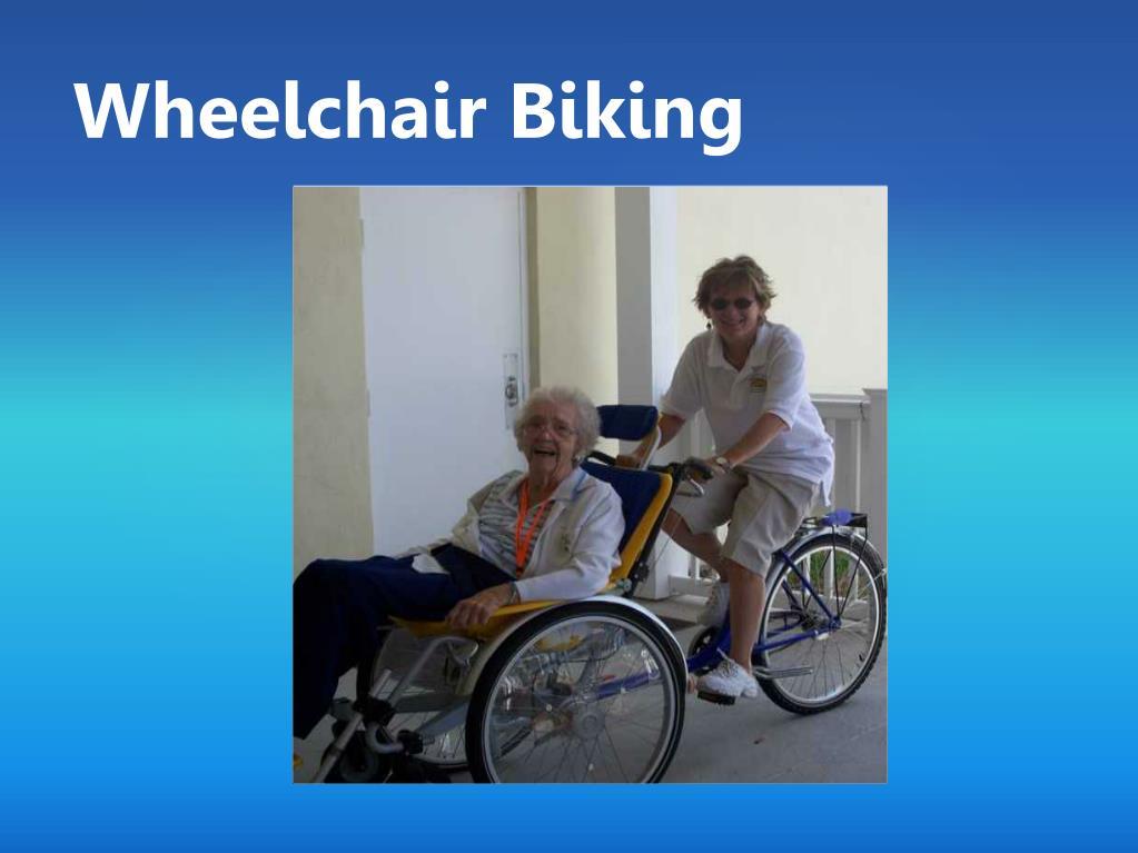 Wheelchair Biking