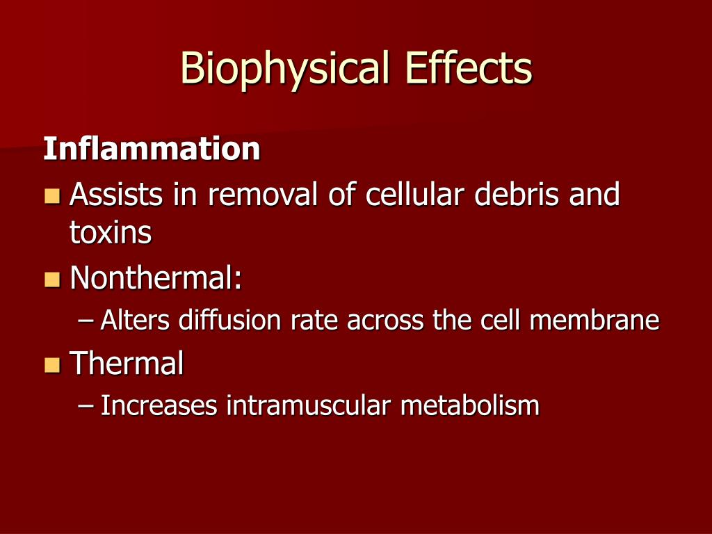 Biophysical Effects