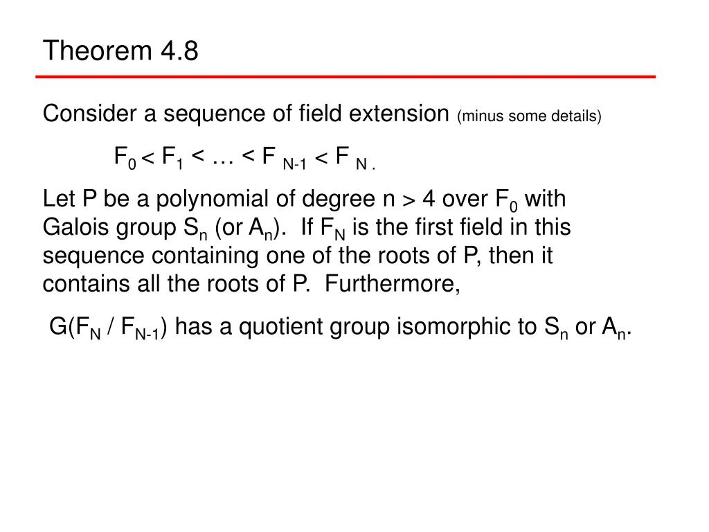 Theorem 4.8