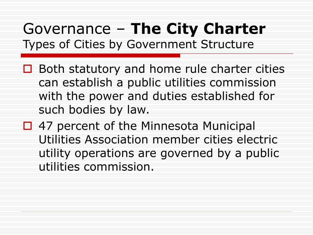 Governance –