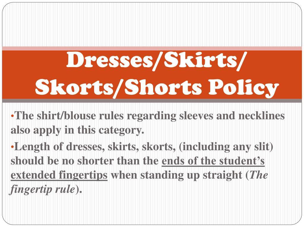 Dresses/Skirts/