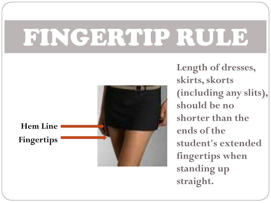 FINGERTIP RULE