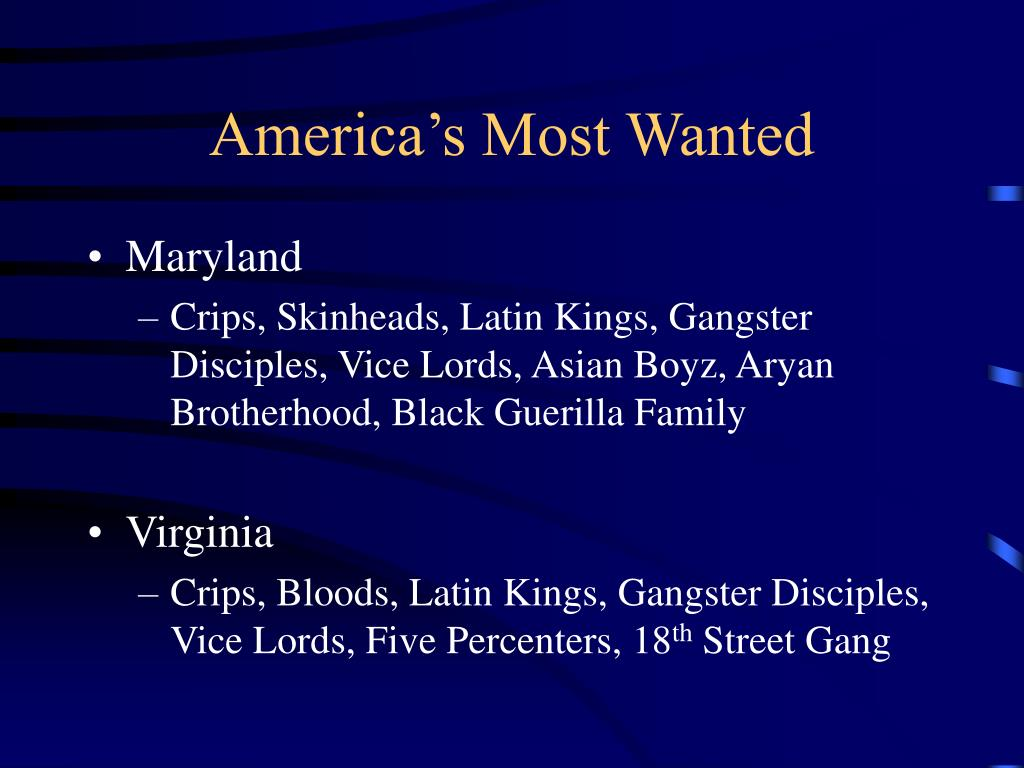 America's Most Wanted