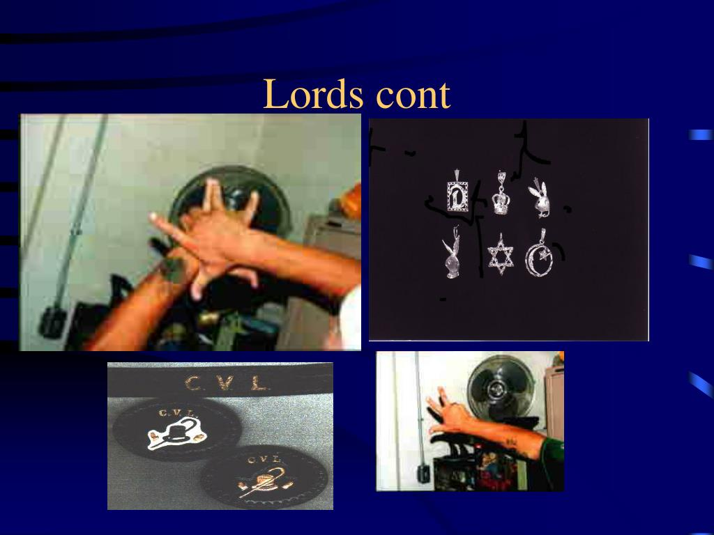 Lords cont