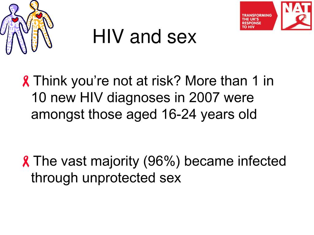 HIV and sex
