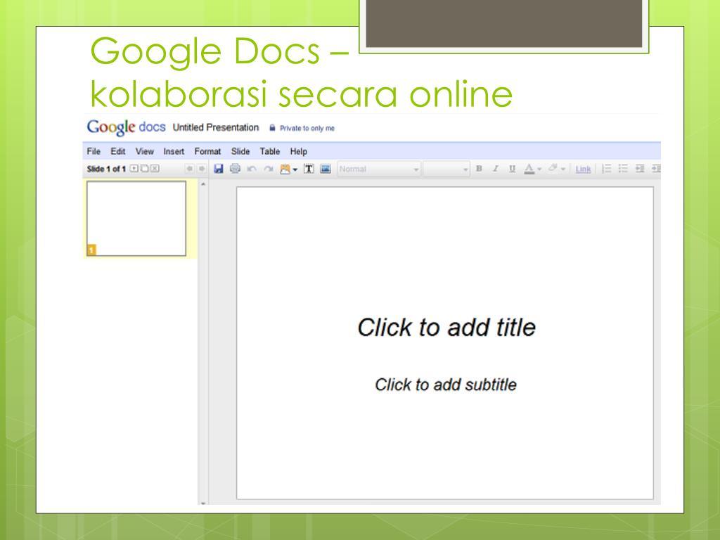 Google Docs –
