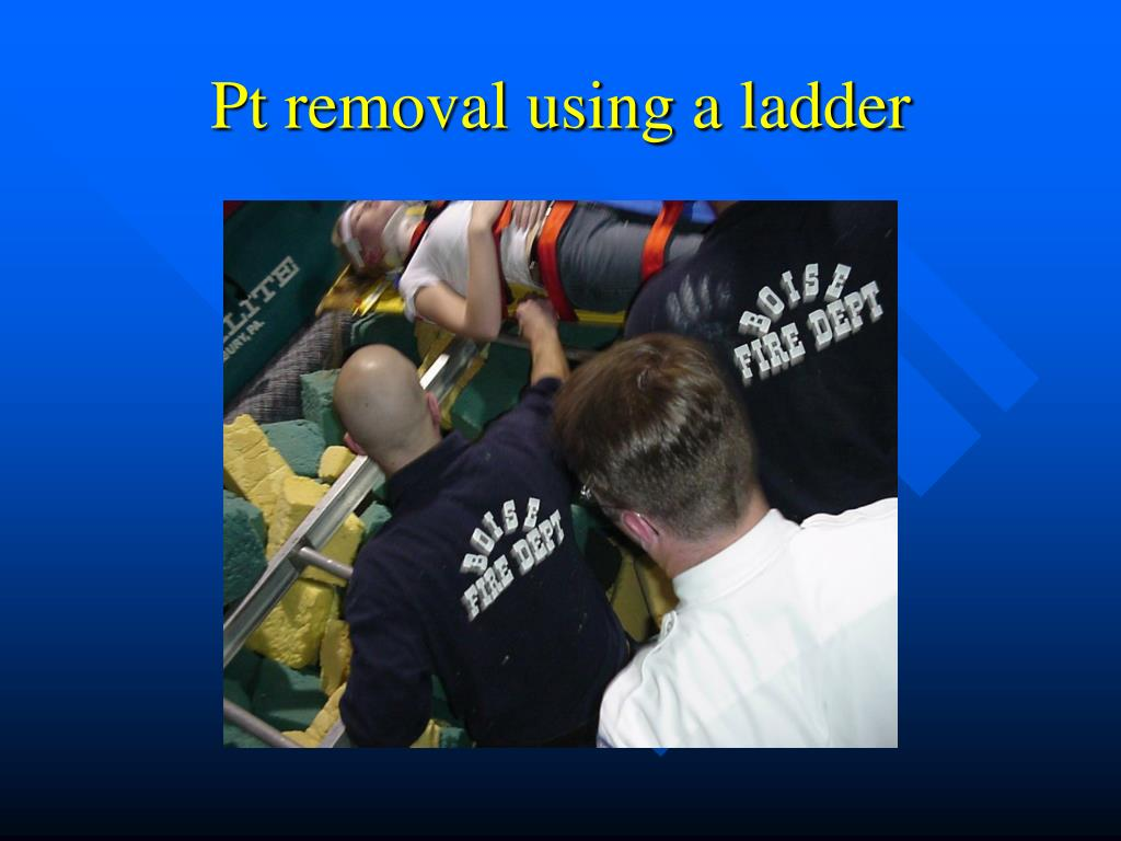 Pt removal using a ladder