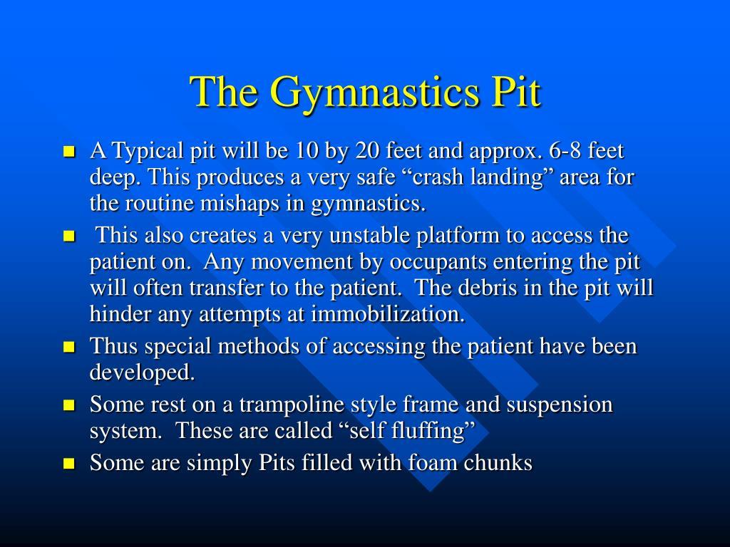 The Gymnastics Pit