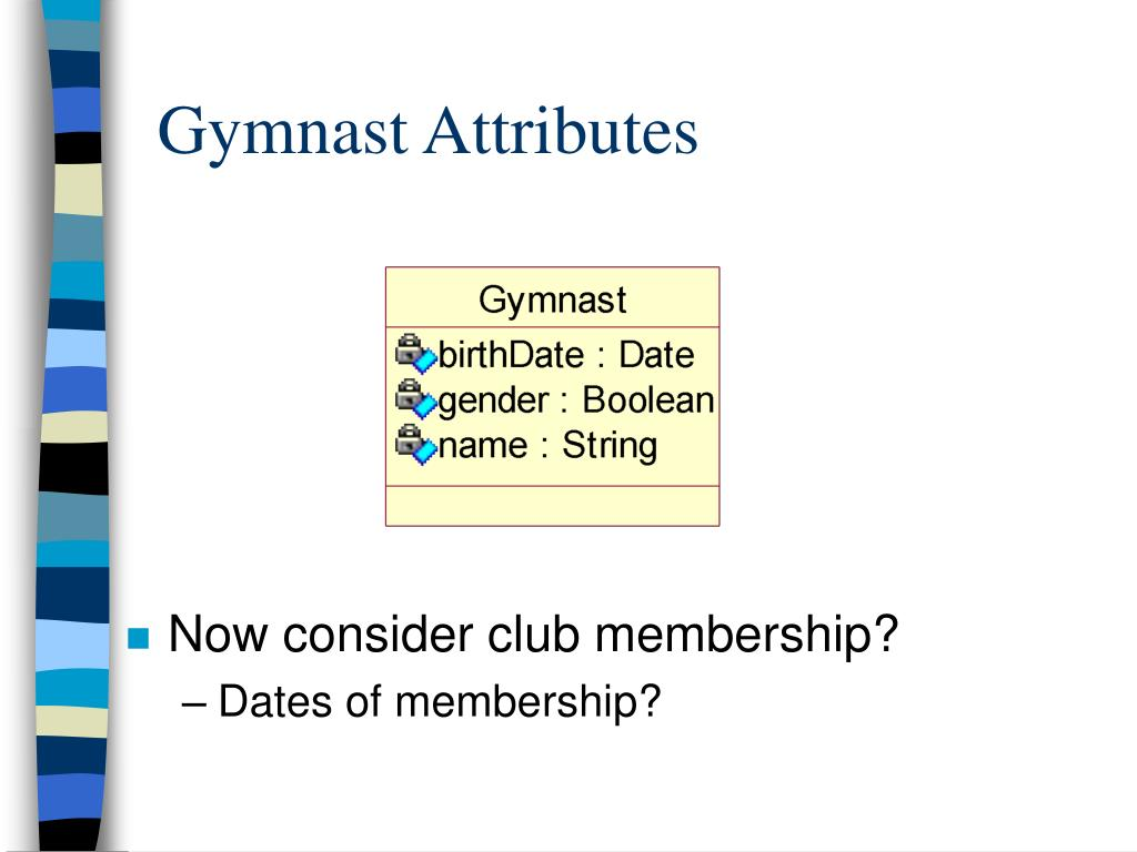 Gymnast Attributes