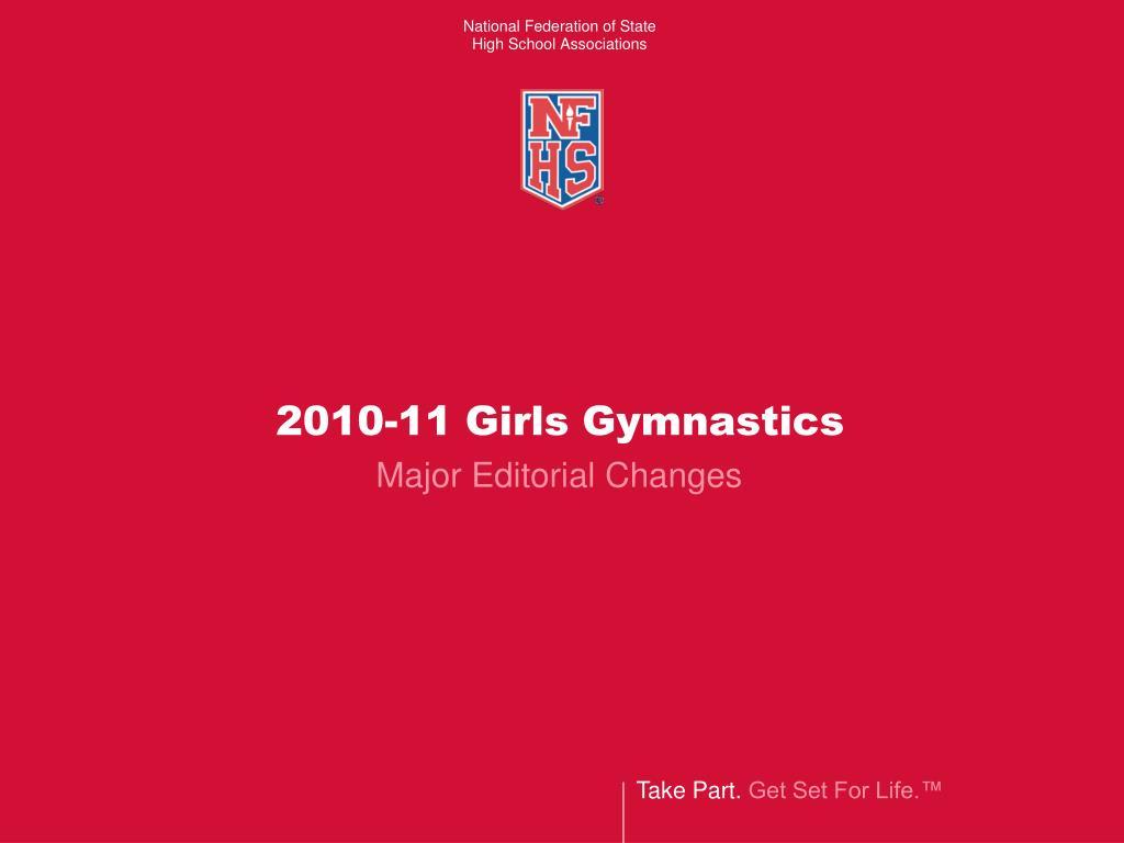 2010-11 Girls Gymnastics