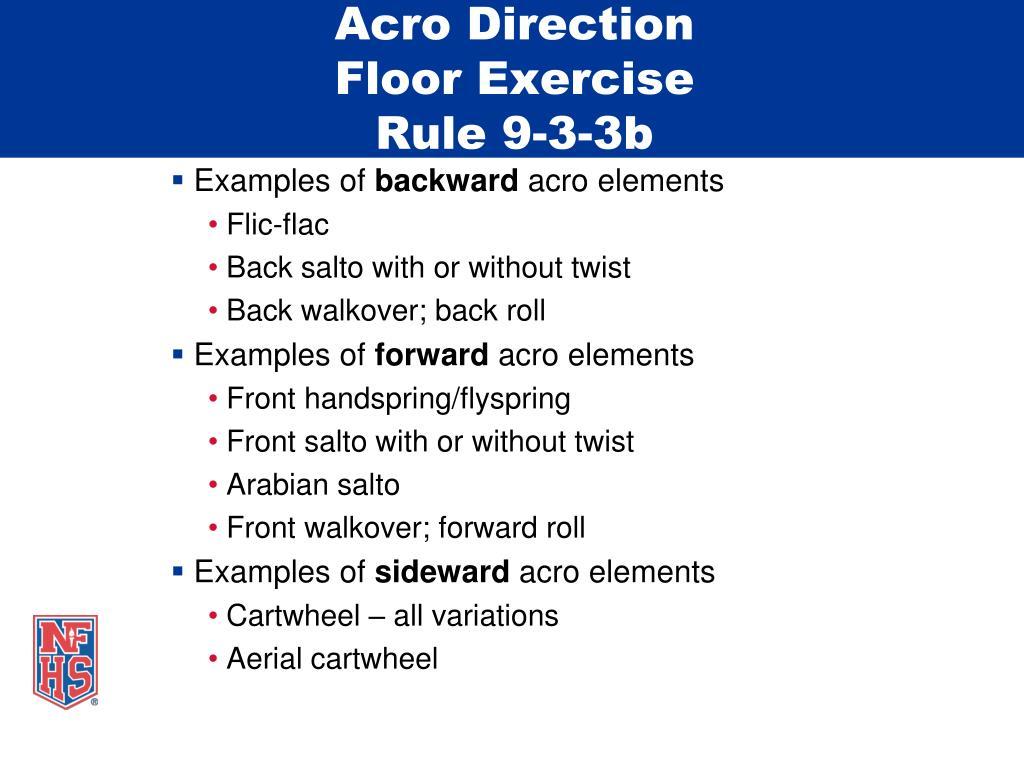 Acro Direction