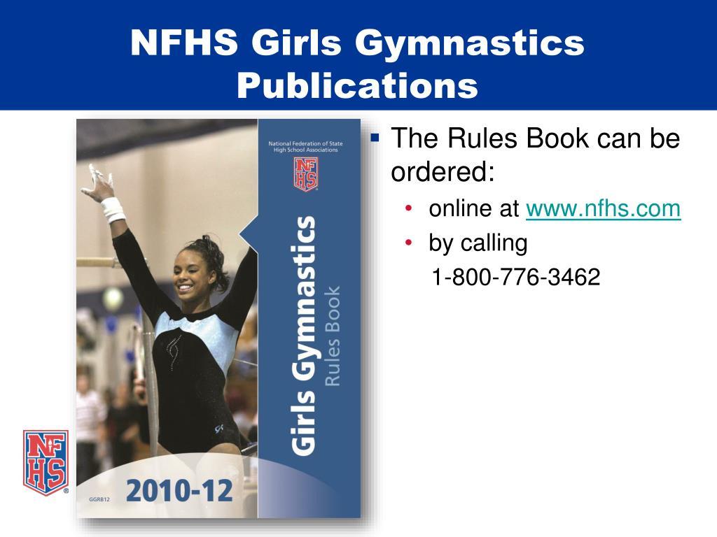 NFHS Girls Gymnastics Publications