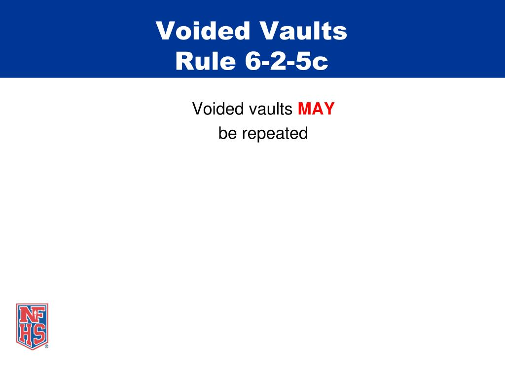 Voided Vaults