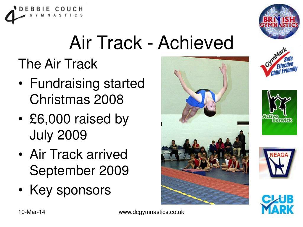 Air Track - Achieved