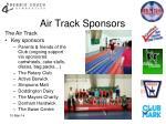 air track sponsors