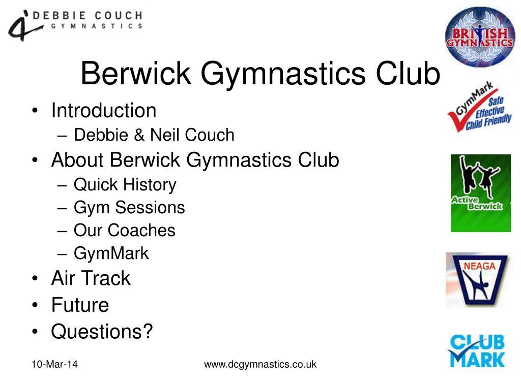 berwick gymnastics club