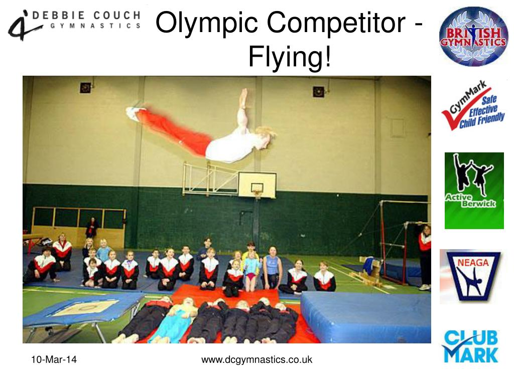 Olympic Competitor -  Flying!