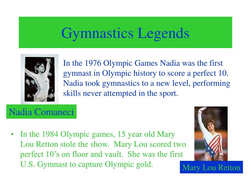 Gymnastics Legends