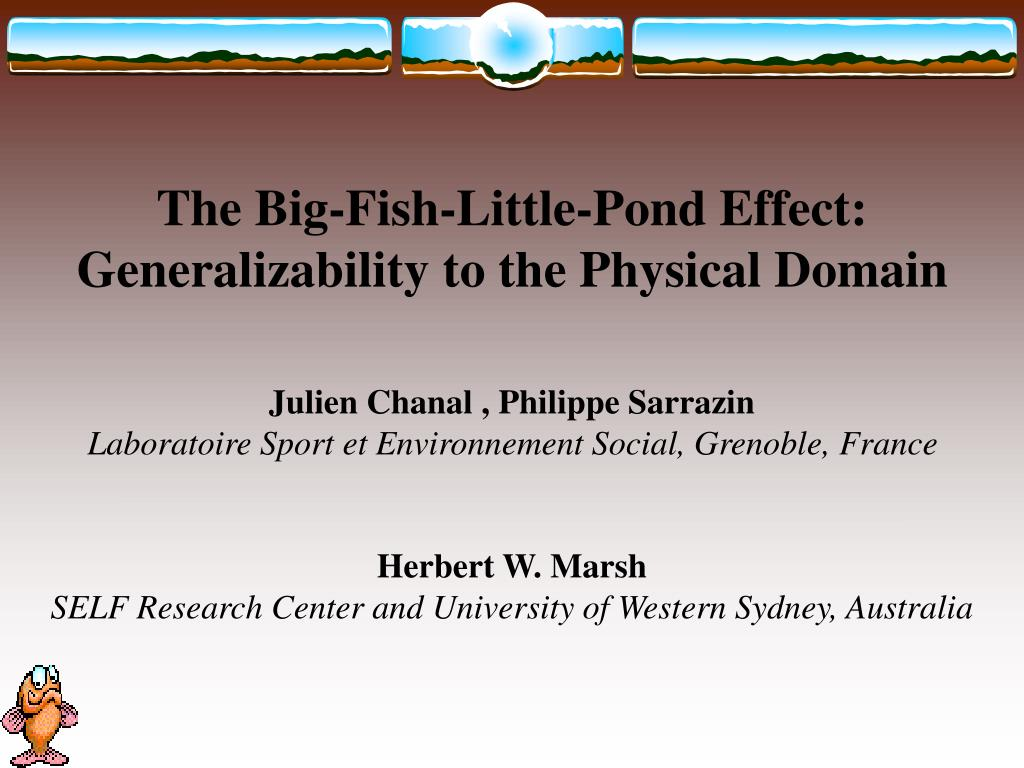 The Big-Fish-Little-Pond Effect: Generalizability to the Physical Domain