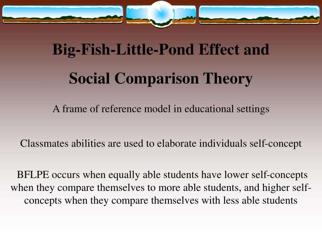 Big-Fish-Little-Pond Effect and