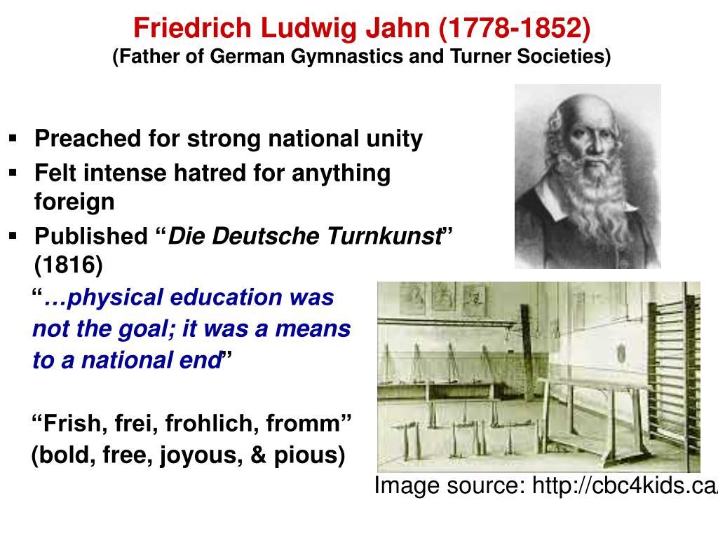 Friedrich Ludwig Jahn (1778-1852)