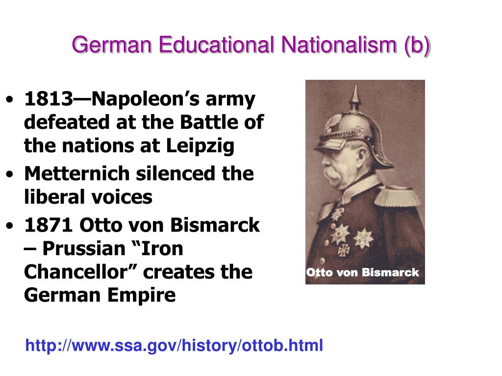 German Educational Nationalism (b)