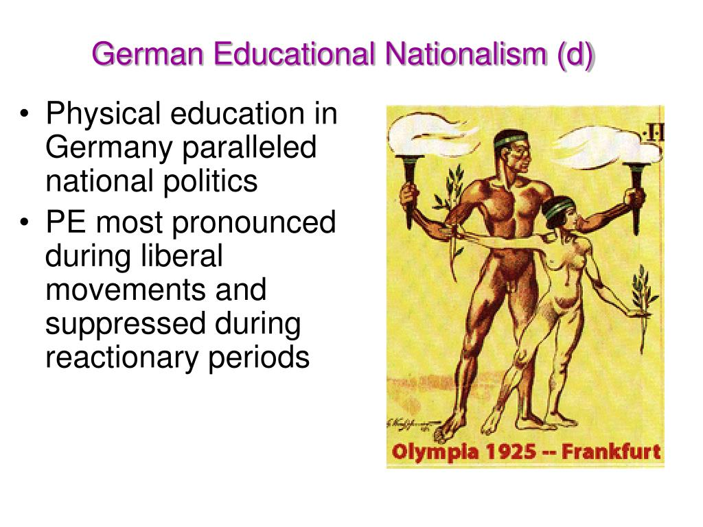 German Educational Nationalism (d)