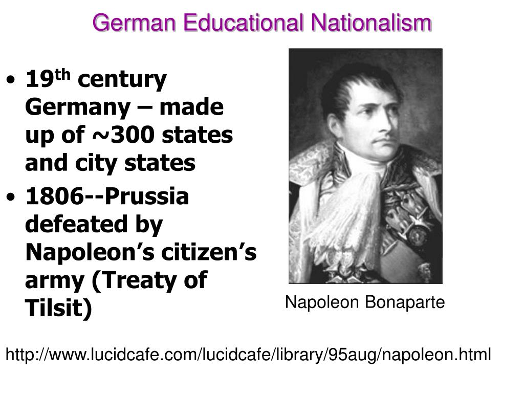 German Educational Nationalism
