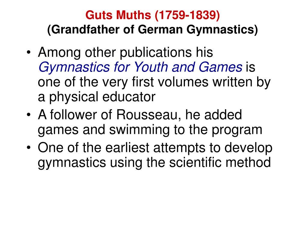 Guts Muths (1759-1839)
