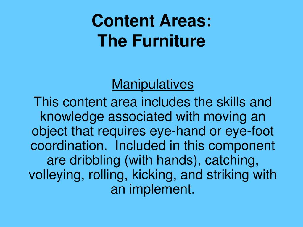 Content Areas: