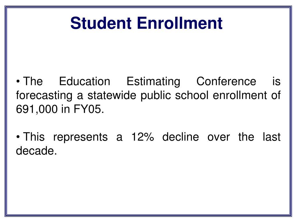 Student Enrollment