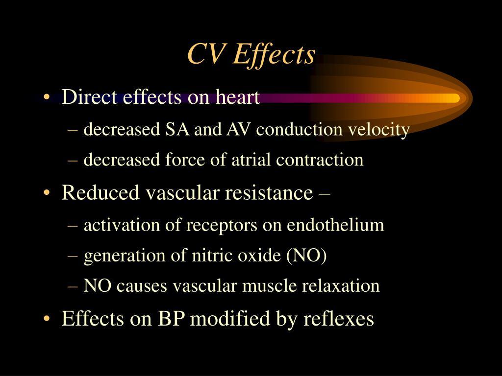 CV Effects
