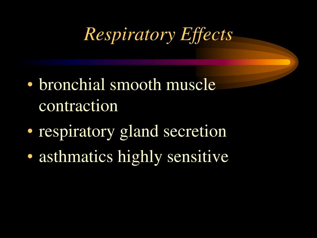 Respiratory Effects