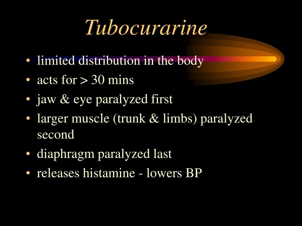 Tubocurarine