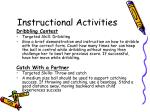 instructional activities16