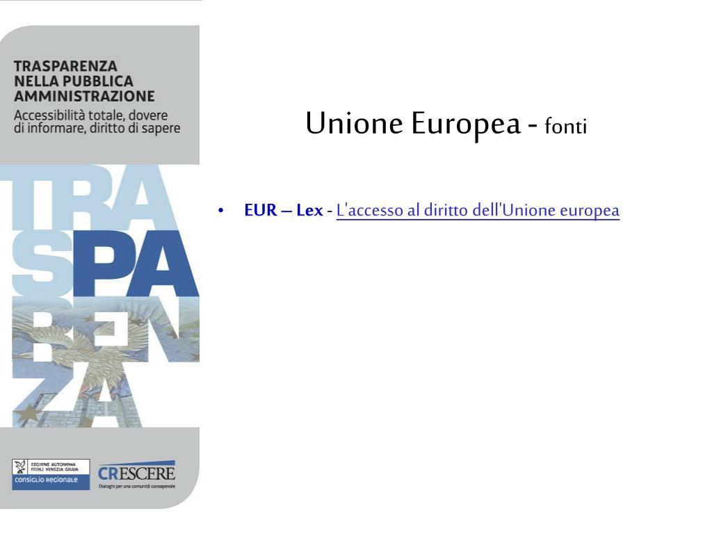 Unione Europea -