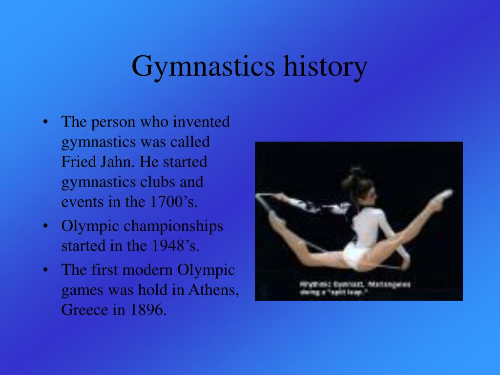 Gymnastics history
