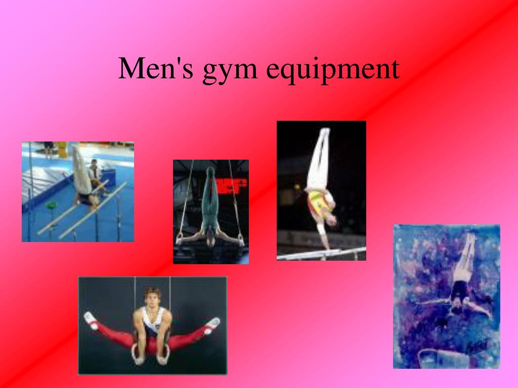 Men's gym equipment