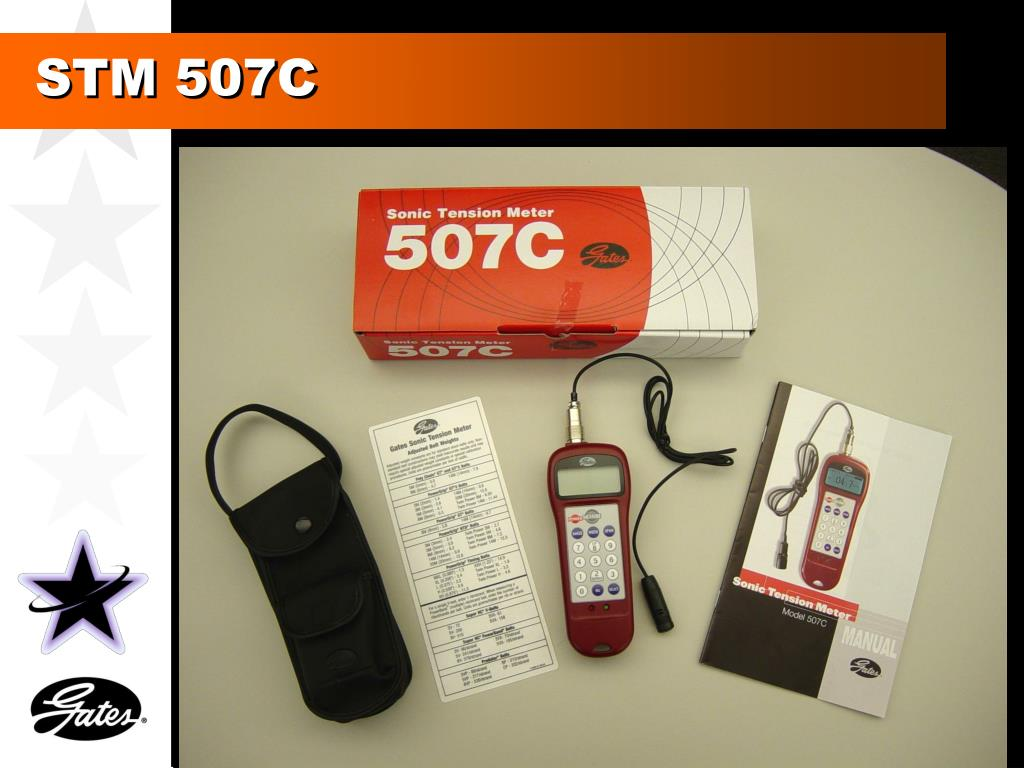 Ppt Gates Sonic Tension Meter 507c Powerpoint