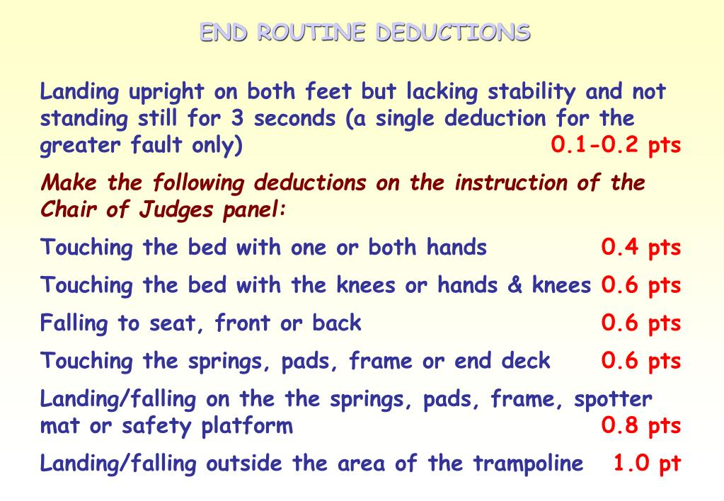 END ROUTINE DEDUCTIONS