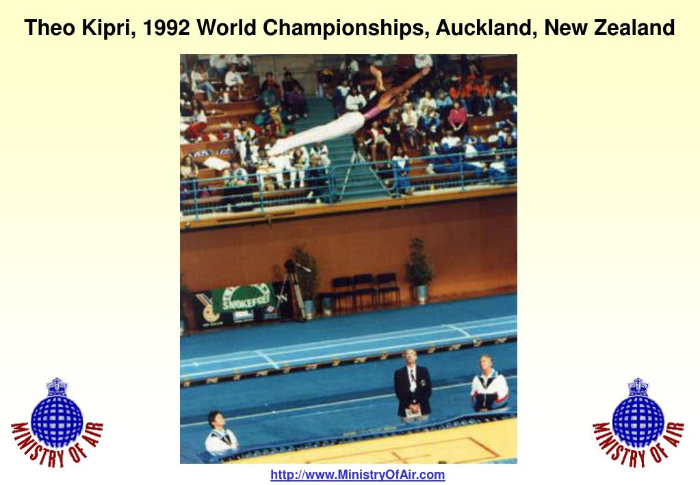 Theo Kipri, 1992 World Championships, Auckland, New Zealand