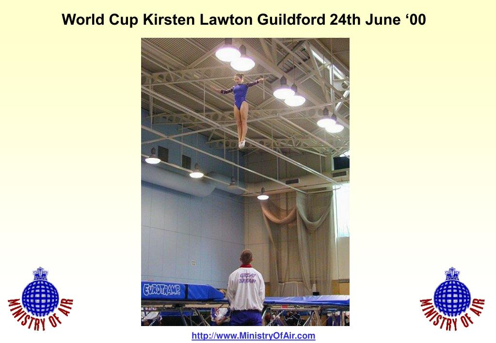 World Cup Kirsten Lawton Guildford 24th June '00
