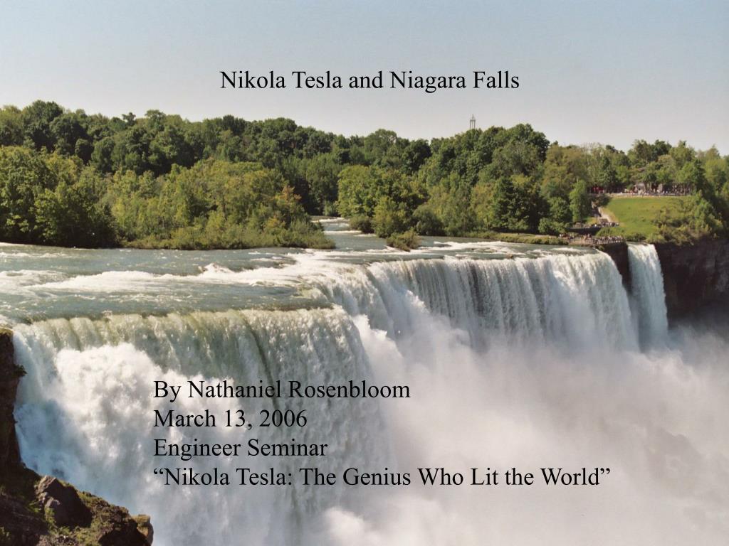 Nikola Tesla and Niagara Falls