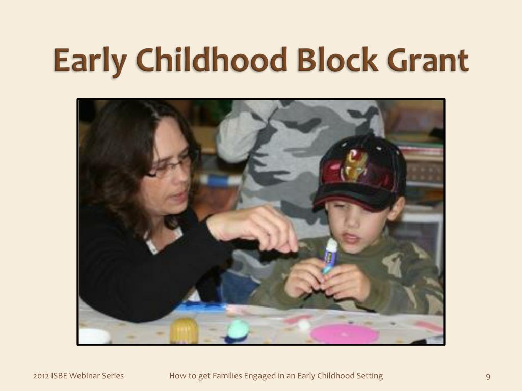 Early Childhood Block Grant